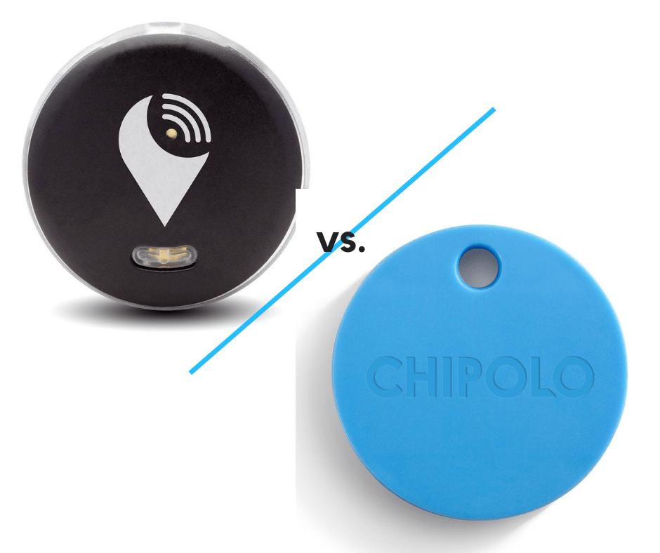 trackr vs chipolo compared stop