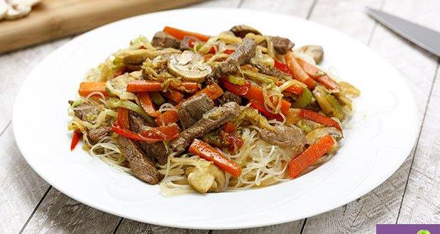 Easy & Delicious Beef And Mushroom Vermicelli Recipe