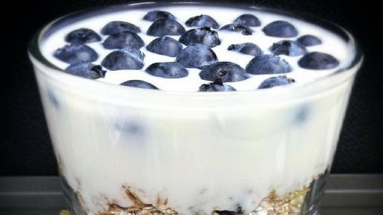 Breakfast Yogurt Muesli