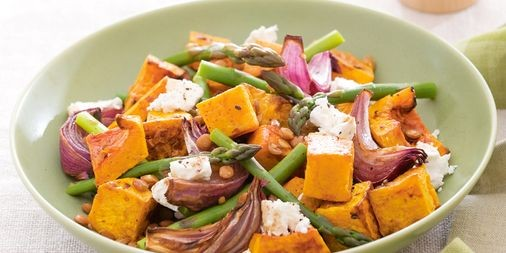 Gluten-Free Brown Rice & Pumpkin Salad Recipe