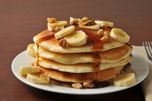 Sweet & Tasty Caramelized Banana Pancakes 2018