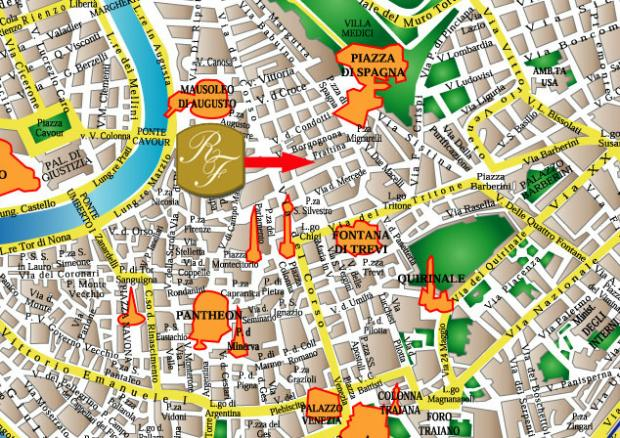 Residenza Frattina Rome Discount Hotel Reservation System