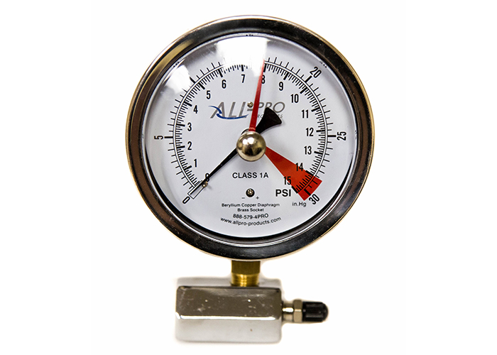all pro diaphragm gauge