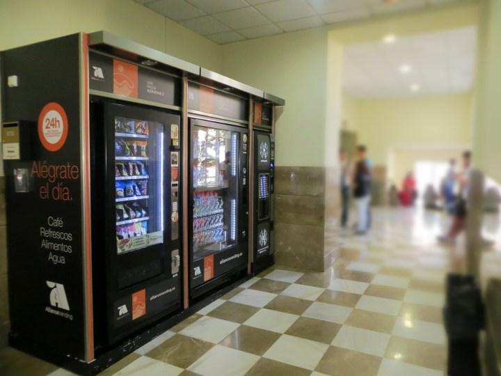 Vending especializado para oficinas e industrias