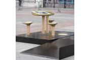 Play, la future table pour jardin public de JCDecaux, concue par Playtouch