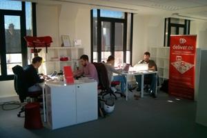 L'équipe de deliver.ee promet un service rapide, utile, pratique et bon marché. © deliver.ee