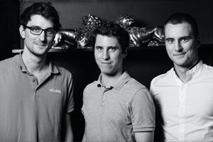 Les trois cofondateurs de Izberg Marketplace. @Izberg Marketplace