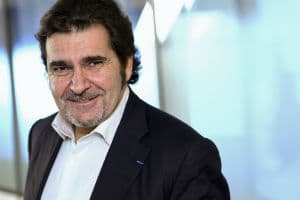 "Bruno Vanryb, président du programme ""5000 startups"". © PIERRE-OLIVIER / Capa Pictures"