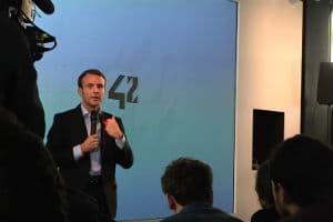 Emmanuel Macron dévoilera des pistes pour la simplification le 10 novembre 2015. © Charlie Perreau