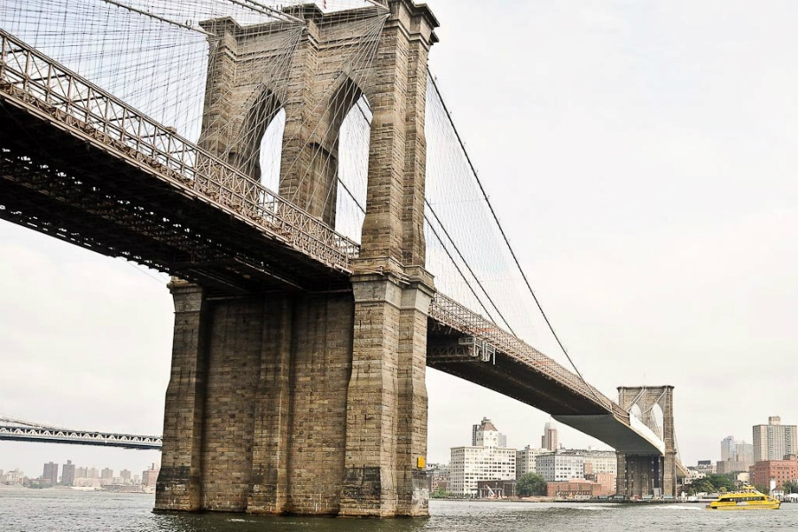 Brooklyn Bridge Flickr CC © Alan Sunners