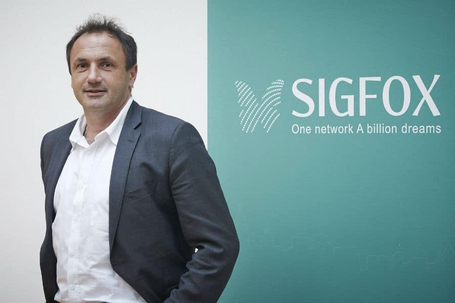 Ludovic Le Moan, cofondateur de Sigfox. © Sigfox