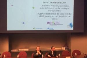 Eric Le Roy directeur général du Snitem et Jean-Claude Ghislain directeur adjoint de l'Ansm