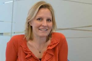 Chrystelle Verlaguet, directrice des solutions dématérialisation et éditique de Neopost France. © Neopost