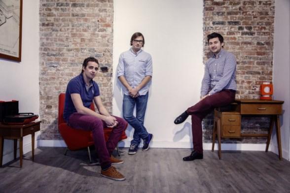Les trois cofondateurs de Reezocar