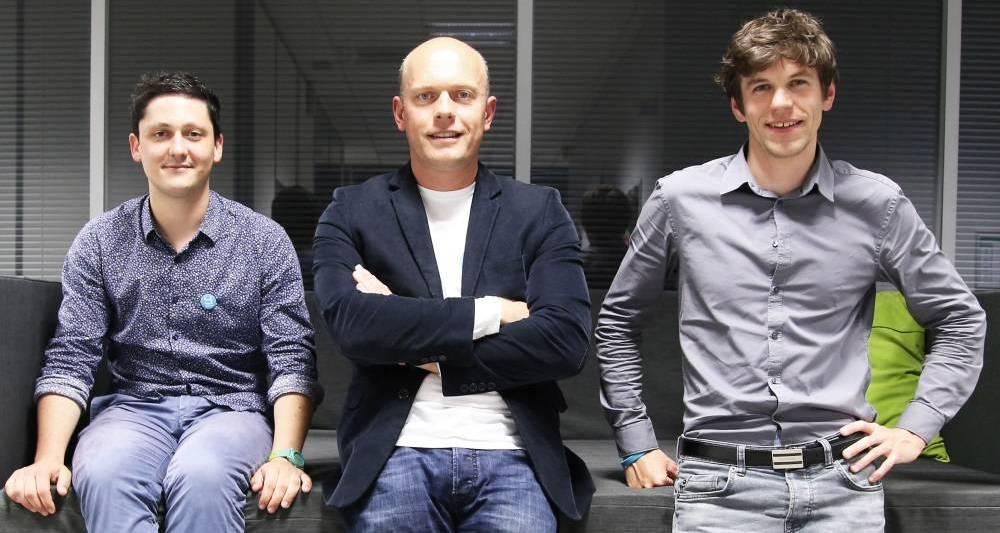 Eric Le Chevalier (au centre) a rejoint Yousign en  2015. © Yousign
