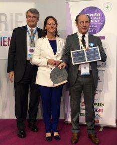 COP 21 Ségolène Royal remettait les premiers trophées Solutions Climat,