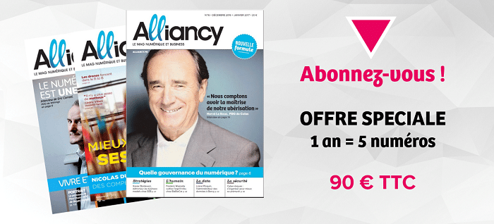 S'abonner au magazine numérique et business alliancy