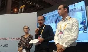 Les trois partenaires ont présenté le programme Pépite Starter implanté à Station F. ©Alliancy
