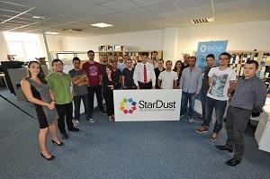 StarDust vérifie les applications web (60% de son marché), mobile (30%) et IoT (10%). ©StarDust