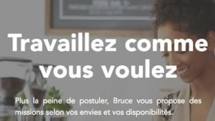 Lauréat du trophée startup numérique 2016, la start-up Bruce (application dédiée au travail temporaire) a bouclé fin 2016 une levée de fonds de 400 000 euros.