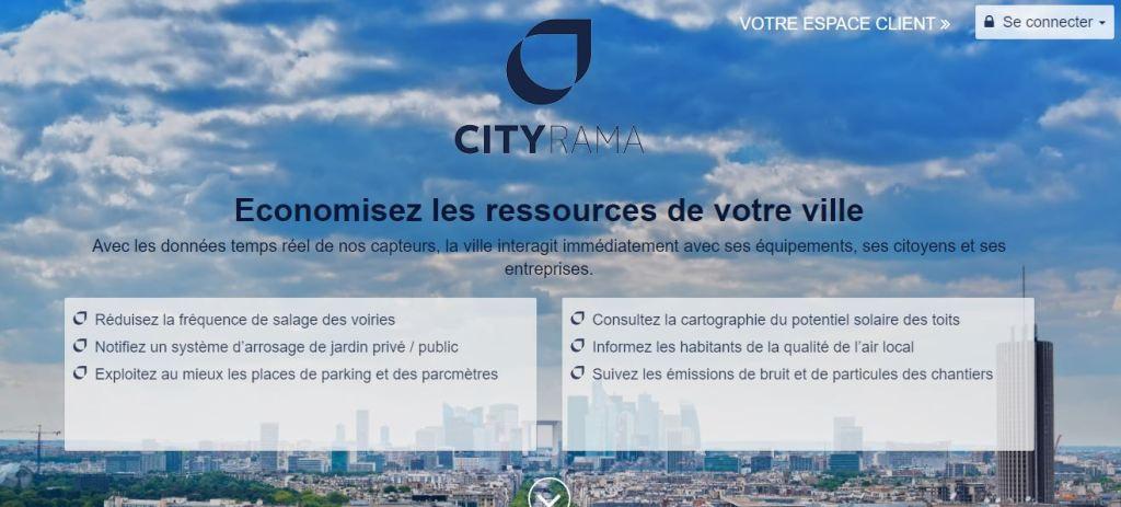 cityrama startup ville connectée