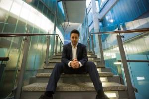 Parham Aarabi, fondateur de Modiface (photo de Johnny Guatto, Université de Toronto).