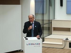 Xavier Huillard, PDG du groupe a intégré Léonard dans une vision plus large de la transformation du groupe.