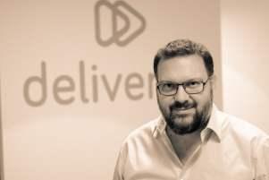 Michael Levy, CEO de Deliver.ee, qui a lancé en début d'année sa solution Mothership pour digitaliser le système de livraison d'une enseigne et lui permettre de livrer un achat dans un créneau de 2 heures. ©Deliver.ee