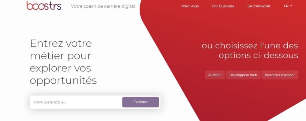 Boost.rs : un coach digital pour trouver son parcours