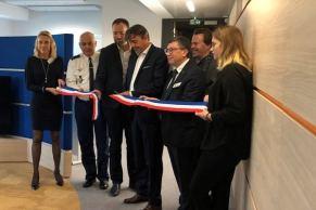 Inauguration du centre lyonnais le 19 octobre dernier @orangebusiness