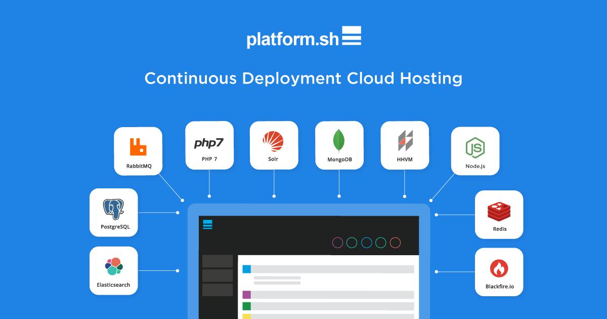 Platform.sh, la plateforme applicative en tant que services