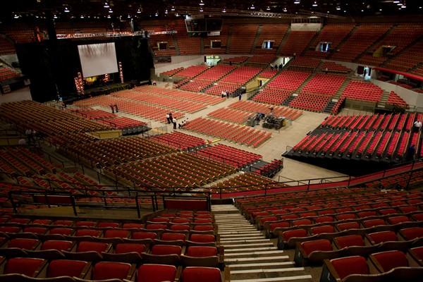 Viewing Album Veterans Memorial Coliseum