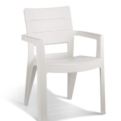 White Plastic Chairs Beach Chair Towels With Pockets Garden Seating Allibert View Ibiza