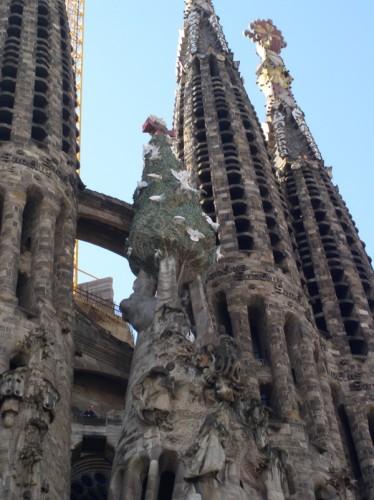 Sagrada Familia in 2005