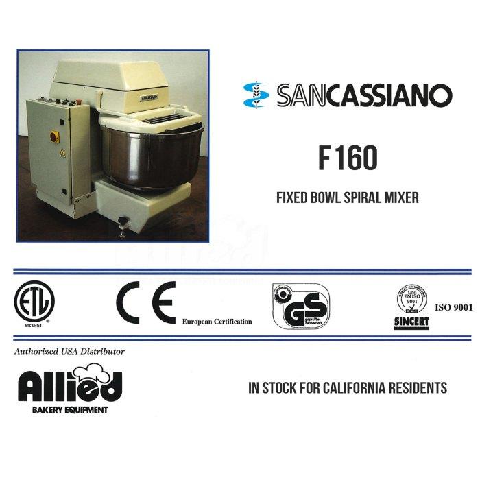 sancassiano-f160-fixed-bowl-mixer