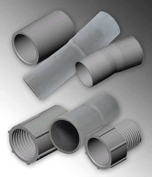 Pvc Pipe Conduit Duct For Electric Communication Industries