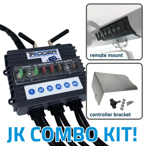TRIGGER 6 SHOOTER Wireless Controller Combo Kit Jeep JK