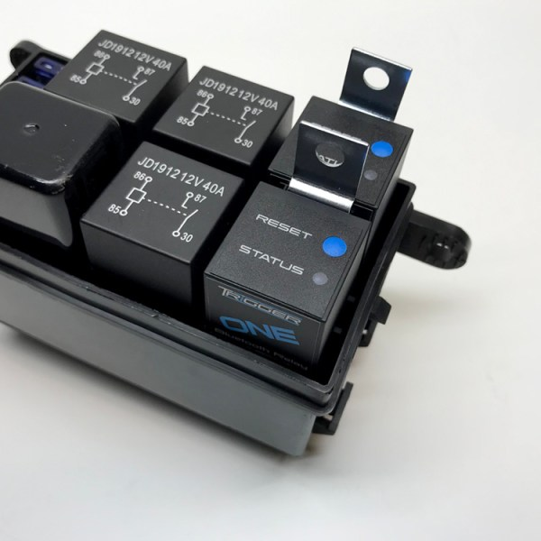 TRIGGER ONE Bluetooth Solid State Relay 4001 Installed