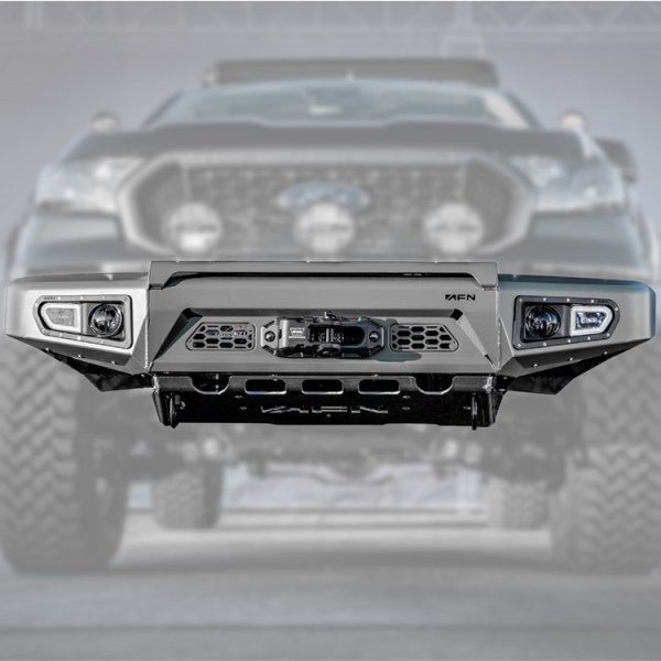 Ford Ranger AFN Front Bumper :: 48002523 :: Allied Expedition :: 03a