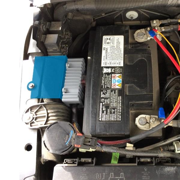 TRIGGER Jeep JK Underhood Controller Bracket-Fender Installed