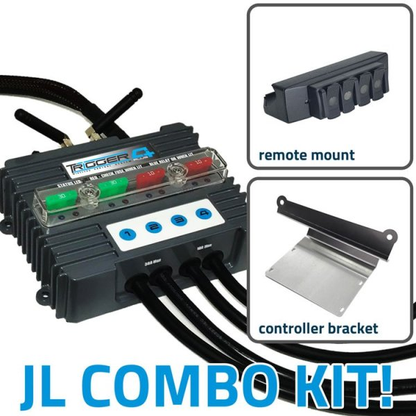 TRIGGER 4 PLUS Wireless Controller Combo Kit Jeep JL and JT