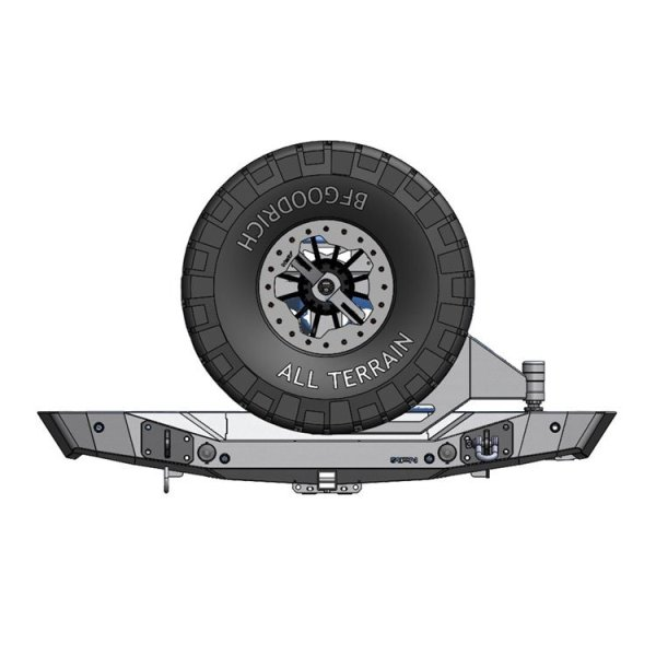 Allied Expedition Jeep Wrangler-Gladiator Rear Bumper 01