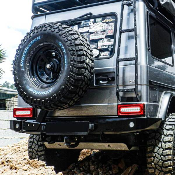 48002556 AFN Mercedes G-Class Bumper Rear :: Allied Expedition