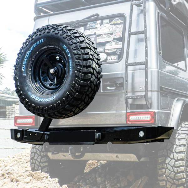 48002556 AFN Mercedes G-Class Rear Bumper Ghost :: Allied Expedition