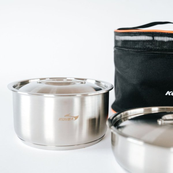 Kovea Triple Stainless Cookware 04 :: Allied Expedition