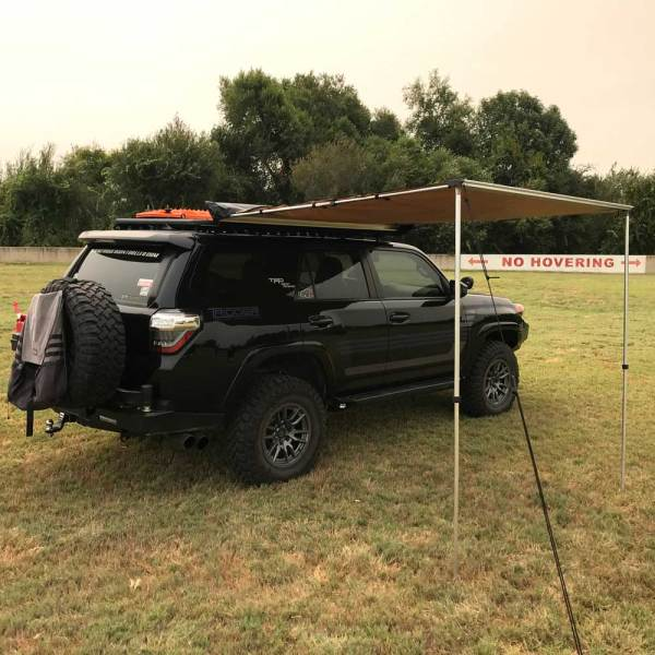 Retractable Roof Rack Awning :: 4Runner 01 :: Allied Expedition