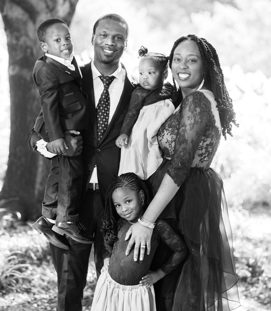 Dr. Adeyefa and Family