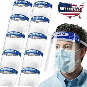 Safety Full Face Shield Reusable Anti Fog Protection Cover Face Mask Anti Splash 5