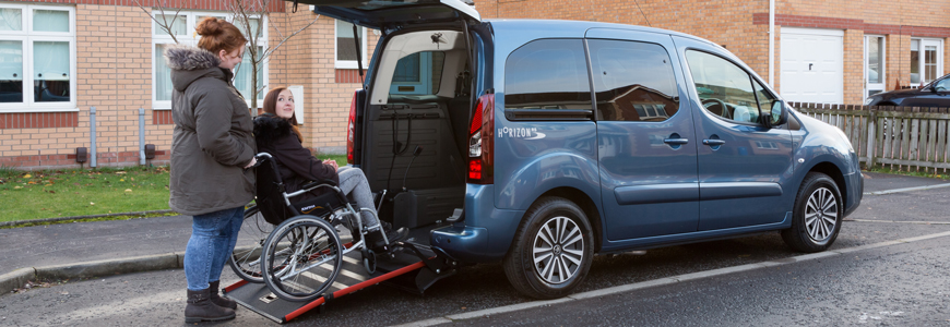 wheelchair car sleeper chair folding foam bed full size accessible vehicles for sale wav lease hire allied