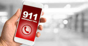 911 on cell phone